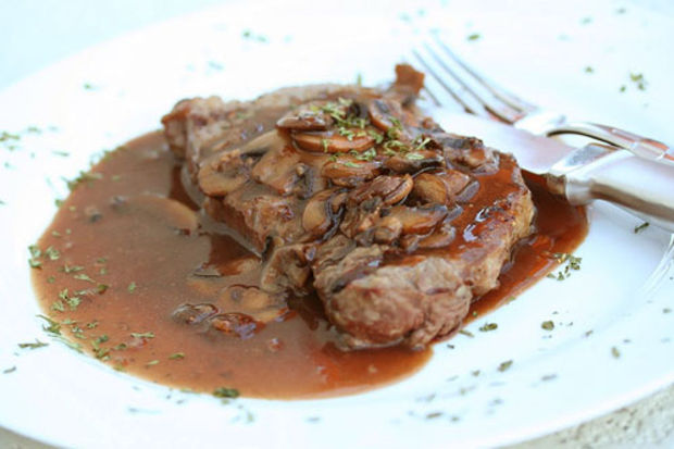 Salçalı biftek...