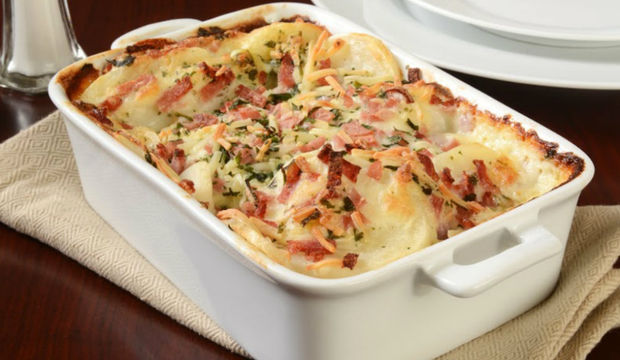 Jambonlu patates