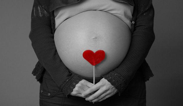 Anne karnında kalp hastalığı tanısı