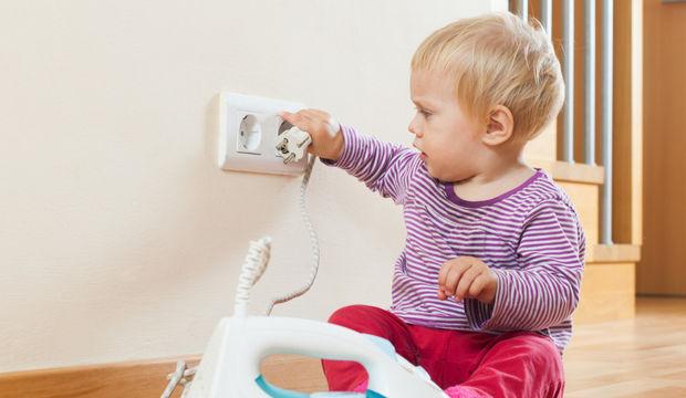 Çocukları ev kazalarından koruyun!