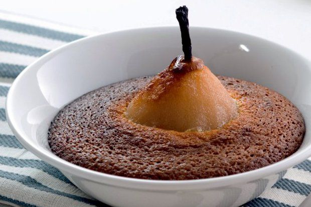 Tarçınlı armutlu kek...