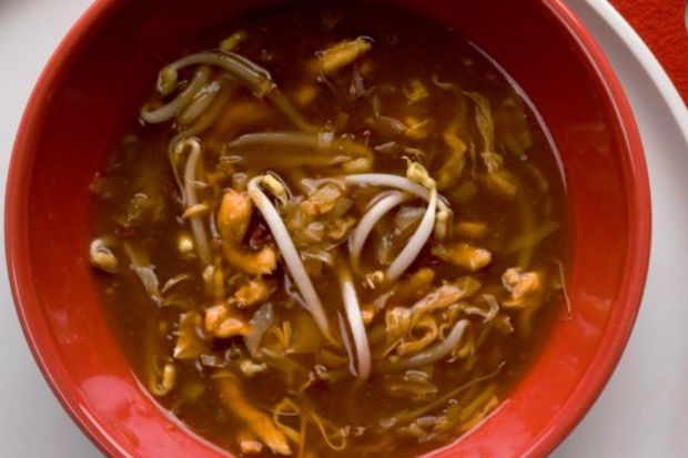 Acılı ekşili çorba