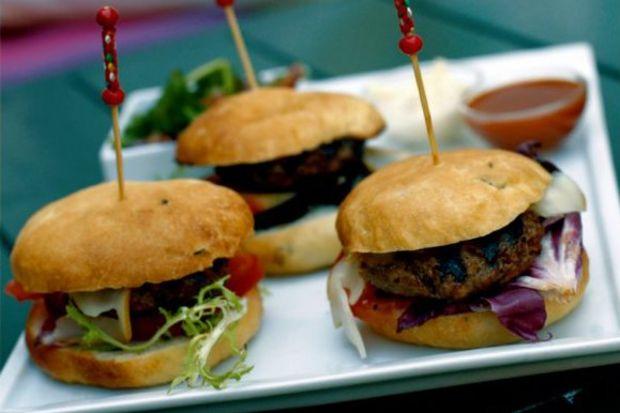 Mini burgerler
