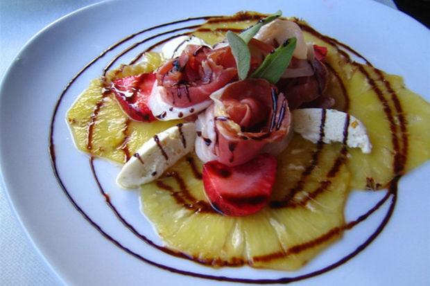 Ananas Carpacio