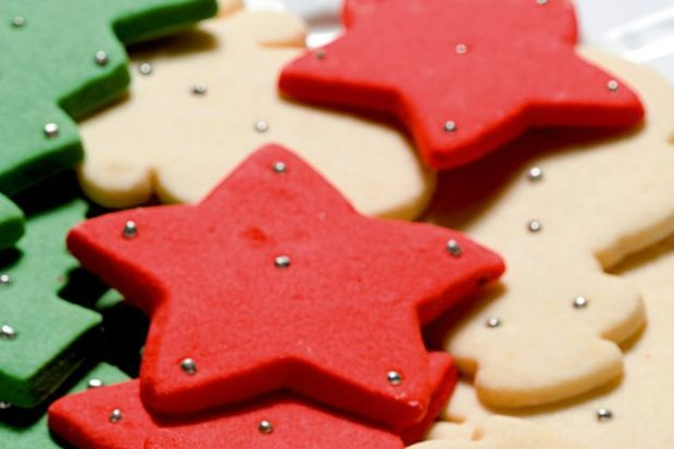Yılbaşı kurabiyesi...