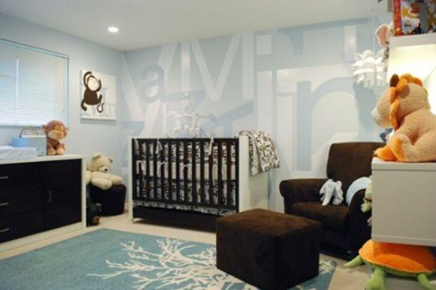 Bebek odası dekorasyonu!