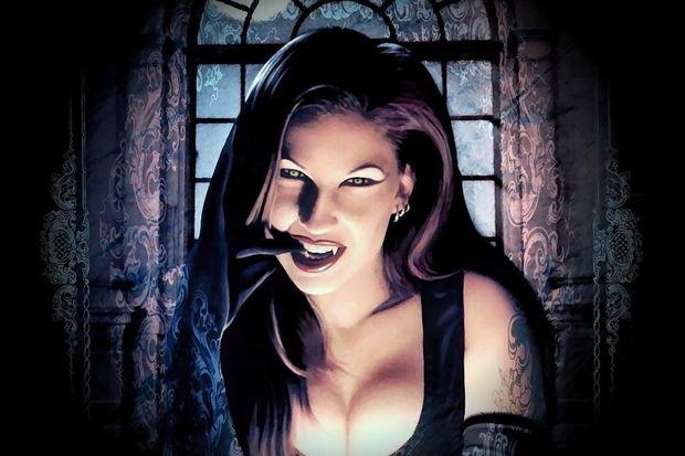 Yeni vampir fetişinizle eğlenin