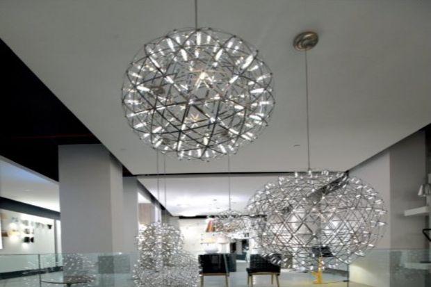 Mozaik aydınlatma yeni yerinde sizlerle