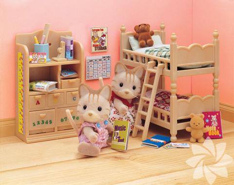 Sylvanian Families oyuncak çocuk evleri
