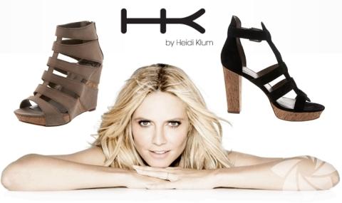 Heidi Klum tasarımı ayakkabı koleksiyonu...