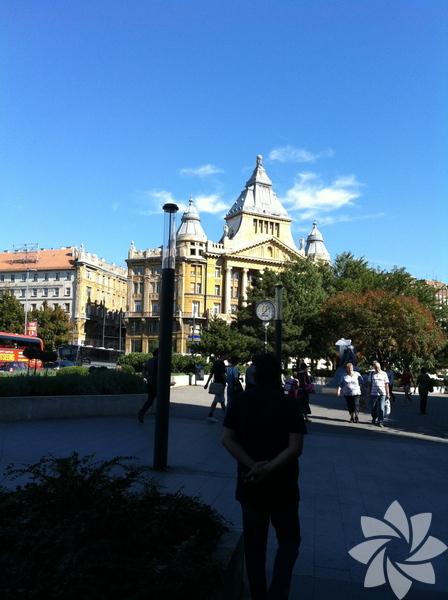Macaristan'ın başkenti Budapeşte...