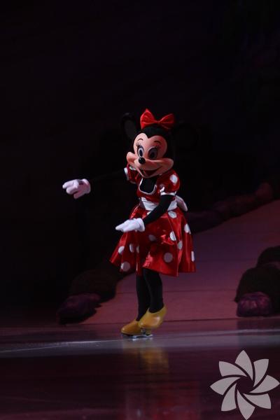 Disney On Ice gösterisinden kareler...