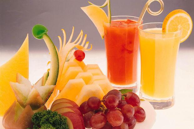 Sağlıklı bir beden için meyve suyu için!