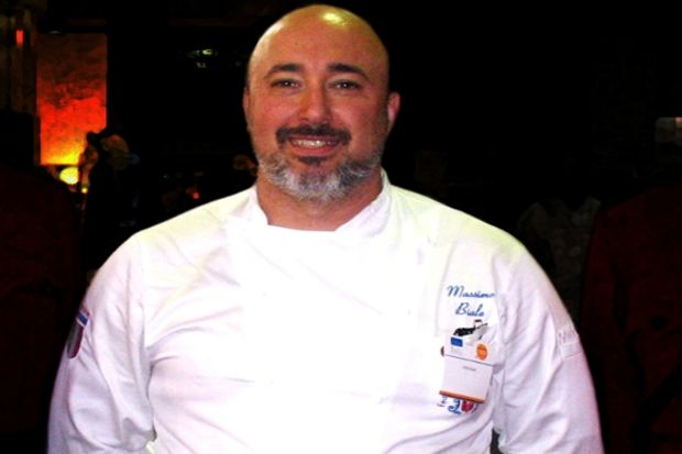Şef Massimo Biale'den lezzet şöleni