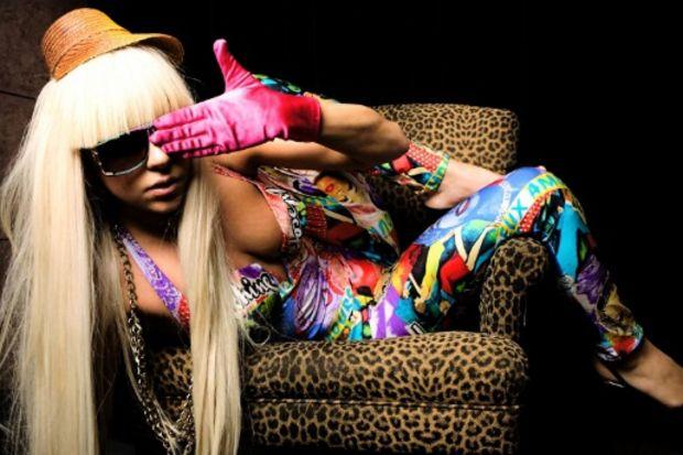 Lady Gaga'nın sıradışı giyim tarzı!