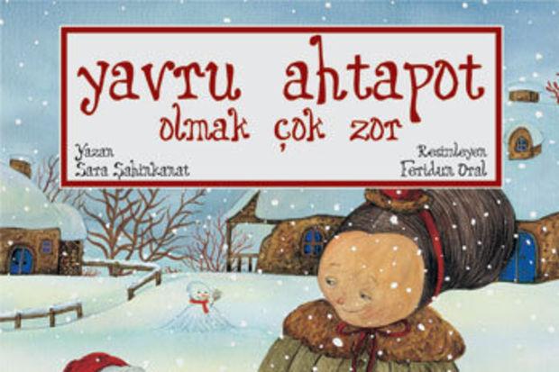 """""""Yavru Ahtapot Olmak Çok Zor""""  çocukları kitap okuma atölyesine bekliyor"""