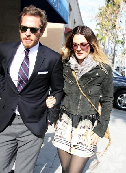 Drew Barrymore & Will Kopelman