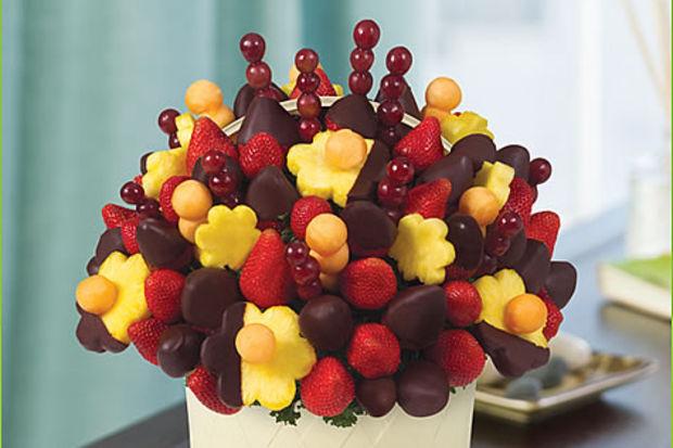 Meyveli sevgililer günü hediyesi...