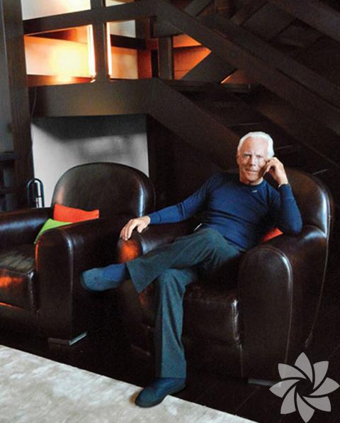 Giorgio Armani'nin İsviçre'deki evi