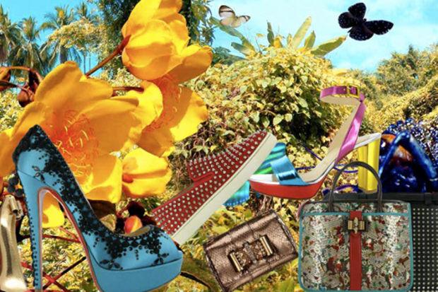 2012 İlkbahar / Yaz sezonuna özel, yepyeni kırmızı tabanlar
