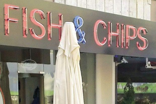Türkiye'de ilk Fish & Chips shop konsepti