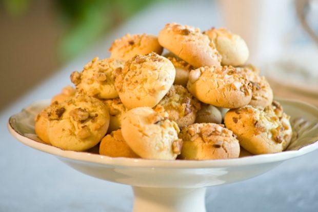 Cevizli (bademli) kurabiye