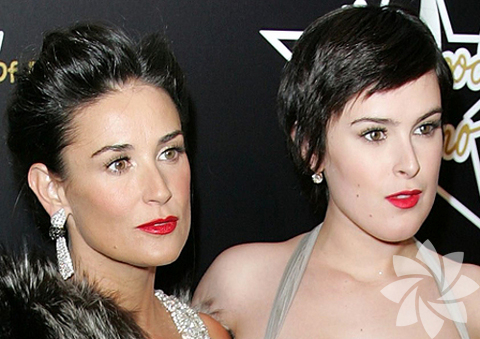 Demi Moore - Rumer Willis