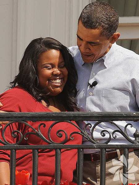Barack Obama - Amber Riley