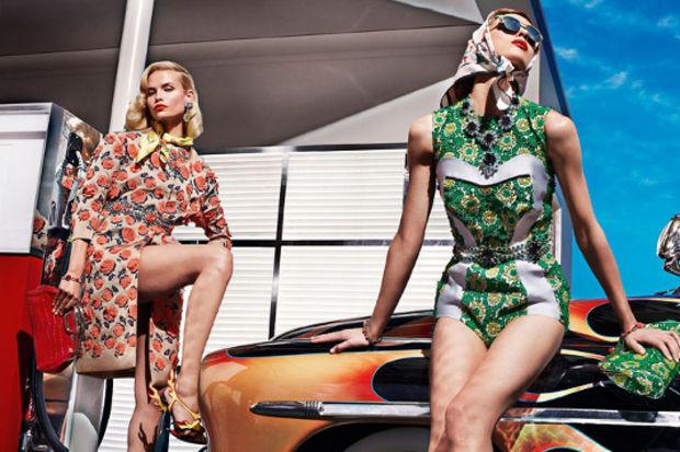 Prada 2012 İlkbahar / Yaz Koleksiyonu ile desen desen bir sezon