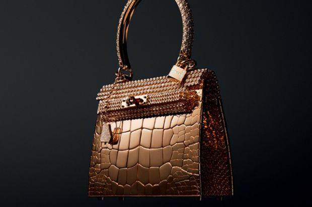 Dünyaca ünlü çanta markası Hermes'den 2 milyon dolarlık çanta!
