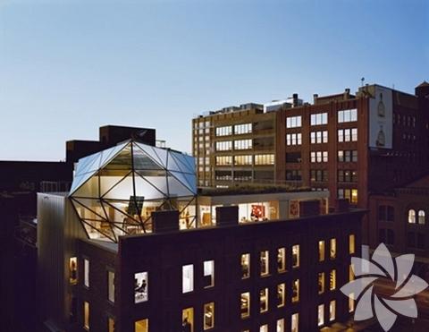 Diane Von Furstenberg ve New York'taki sıradışı evi görenleri hayran bırakıyor.