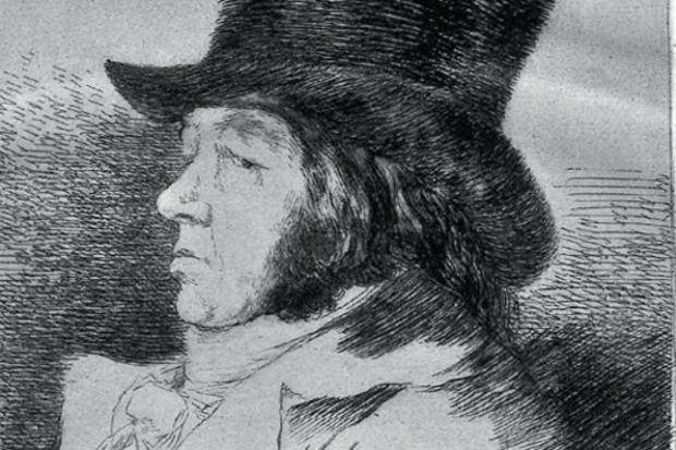 Pera'da Goya sergisi
