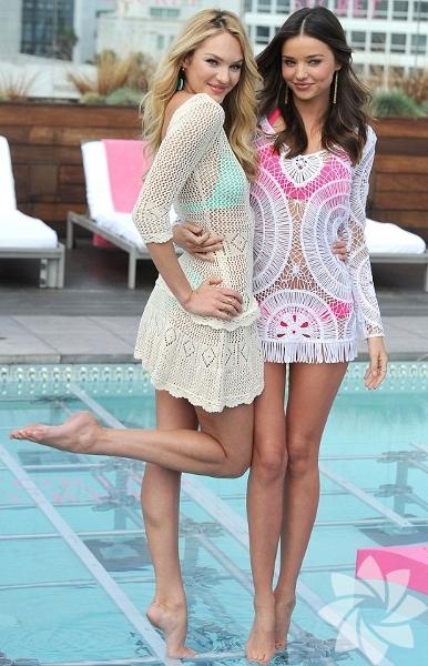 Candice Swanepoel - Miranda Kerr