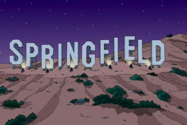 Simpsonlar'ın Springfield'i gerçekte neresi?