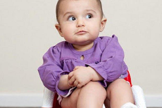6 aylık ama tuvaletini kendi yapıyor!