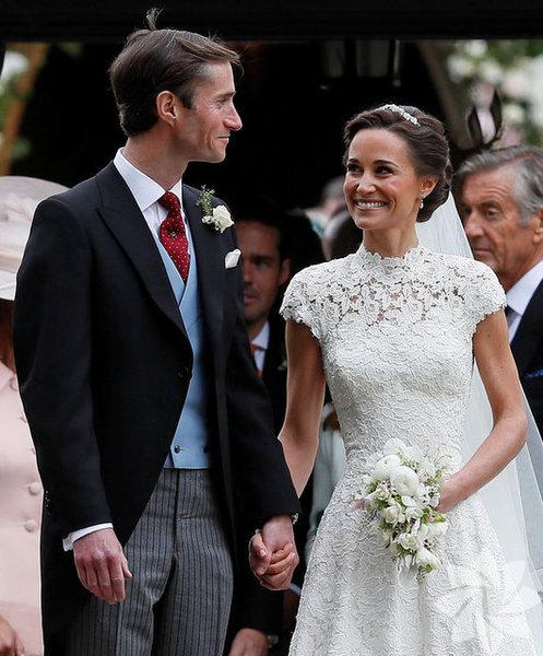 Cambridge Düşesi Kate Middleton'ın kız kardeşi Pippa Middleton evlendi.