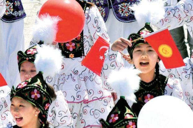 Dünya çocukları Fethiye'den barış mesajları verdi