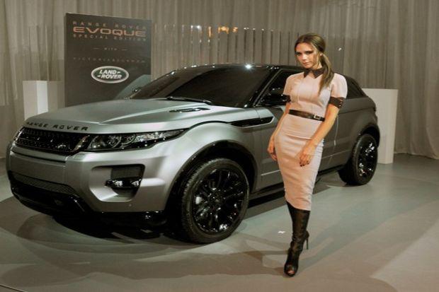 Victoria Beckham araba tasarımına da girdi!