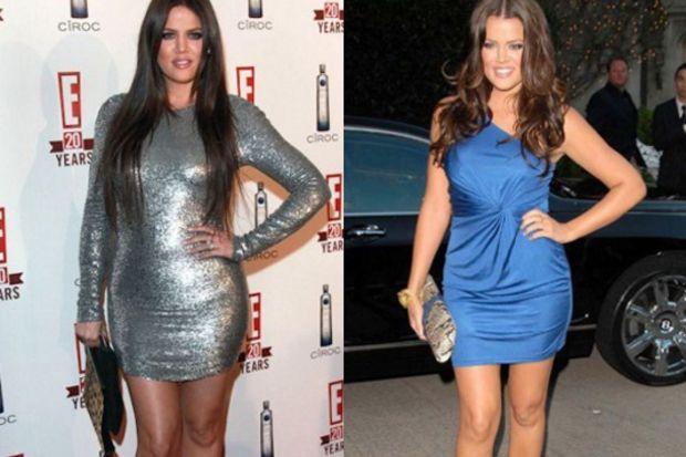 Khloe Kardashian 20 günde 9 kilo verdi!