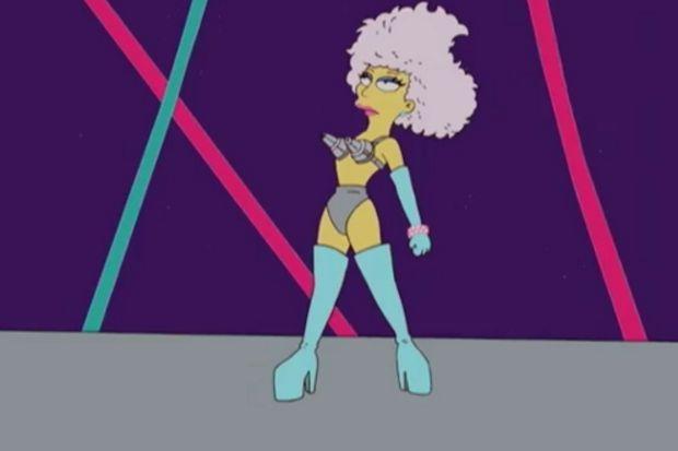 """Dünyaca ünlü pop yıldızı """"Simpson"""" olursa..."""