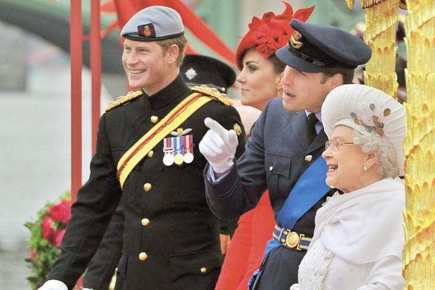 Kraliçe'nin 'Elmas Yılı' partisi