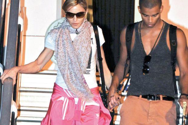 Madonna'nın İstanbul çıkarması