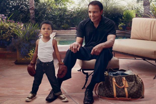 Muhammed Ali Louis Vuitton'un yüzü oldu!