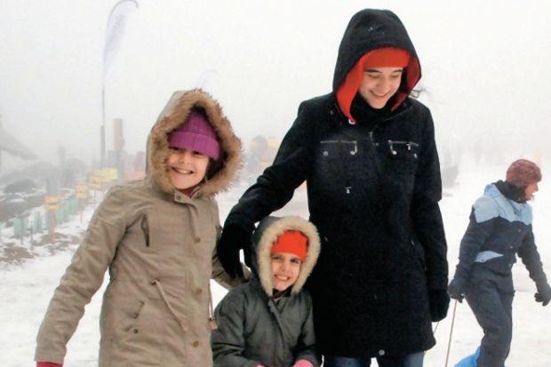 Avustralya'da kar sevinci