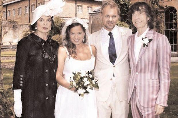 Jagger'ın kızı, DJ aşkıyla evlendi!