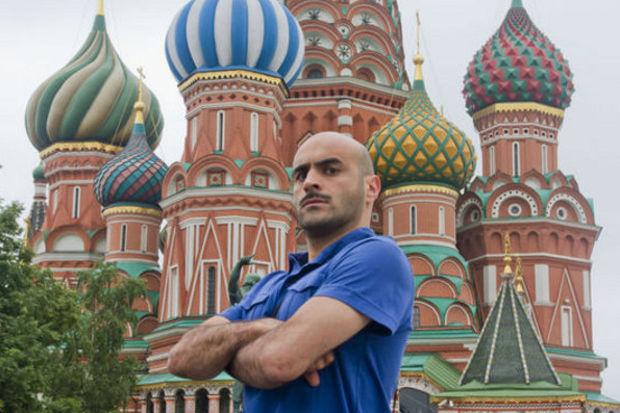 Temel şimdi de Moskova'da!