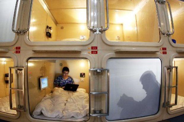 Çılgın tatilcilere çılgın oteller...