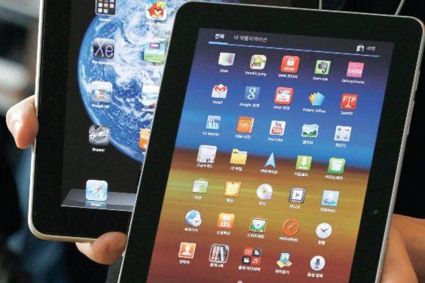 Apple ilan verecek: 'Samsung iPad'imi kopyalamadı'