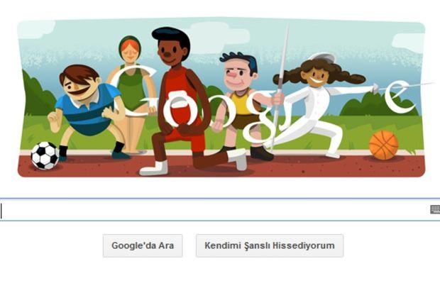 Google, Londra Olimpiyatları Açılış Seremonisini kutluyor!