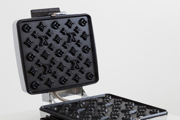Louis Vuitton desenli waffle alır mıydınız?